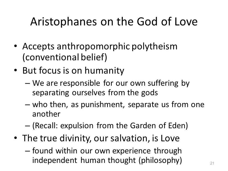 Aristophanes on the God of Love