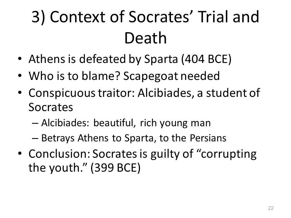 3) Context of Socrates' Trial and Death