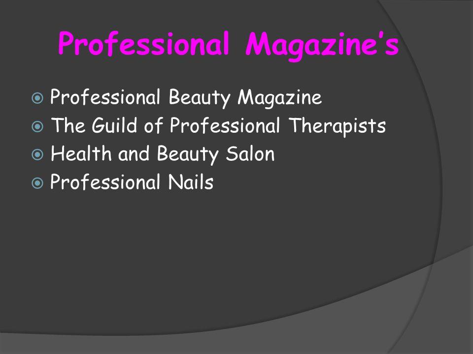 Professional Magazine's