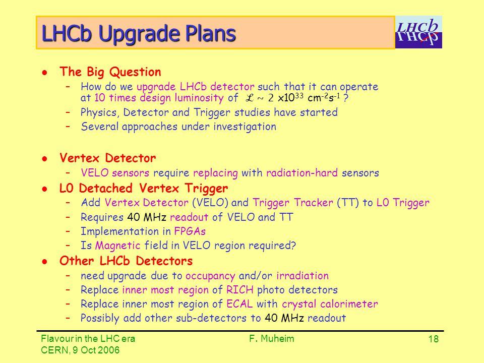 LHCb Upgrade Scenario A