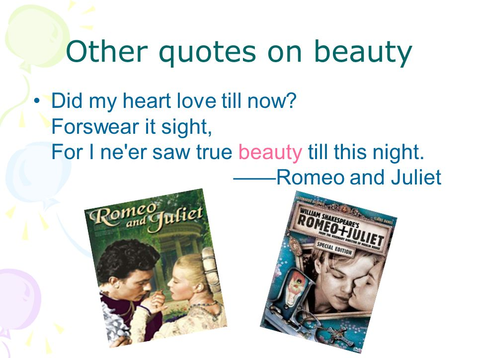 Other quotes on beauty