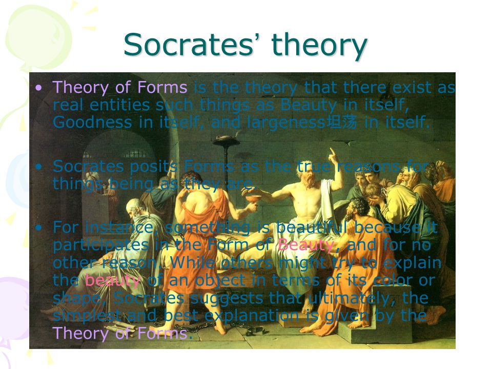 Socrates' theory