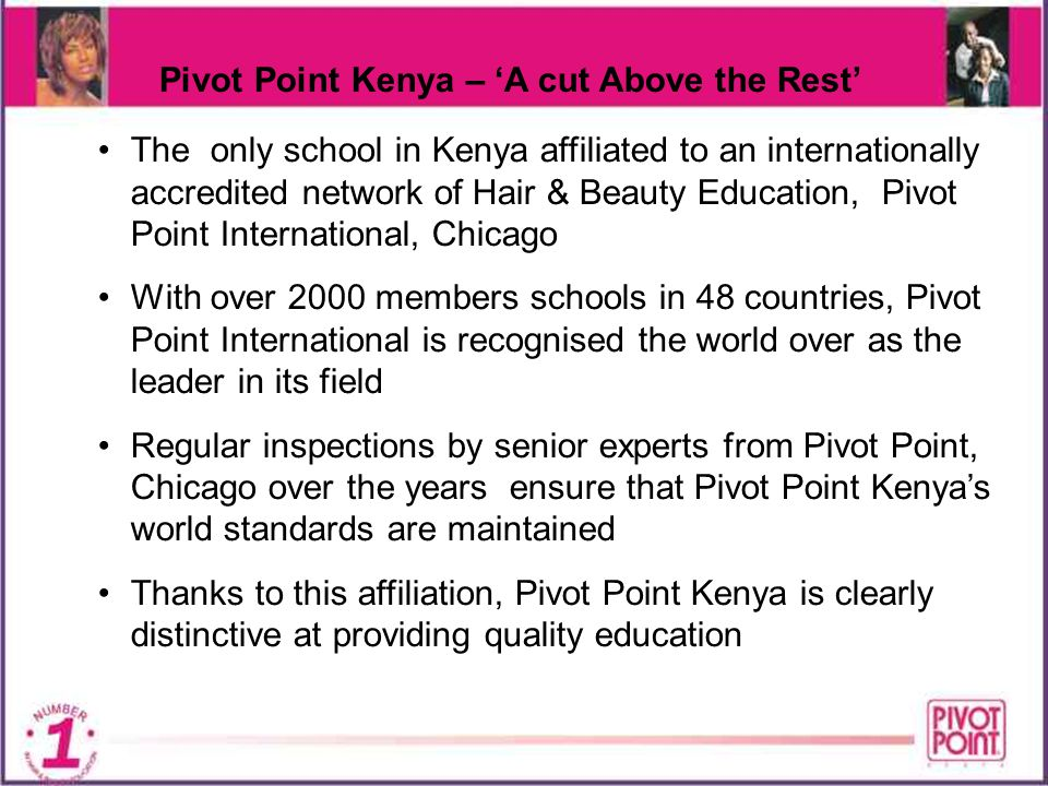 Pivot Point Kenya – 'A cut Above the Rest'