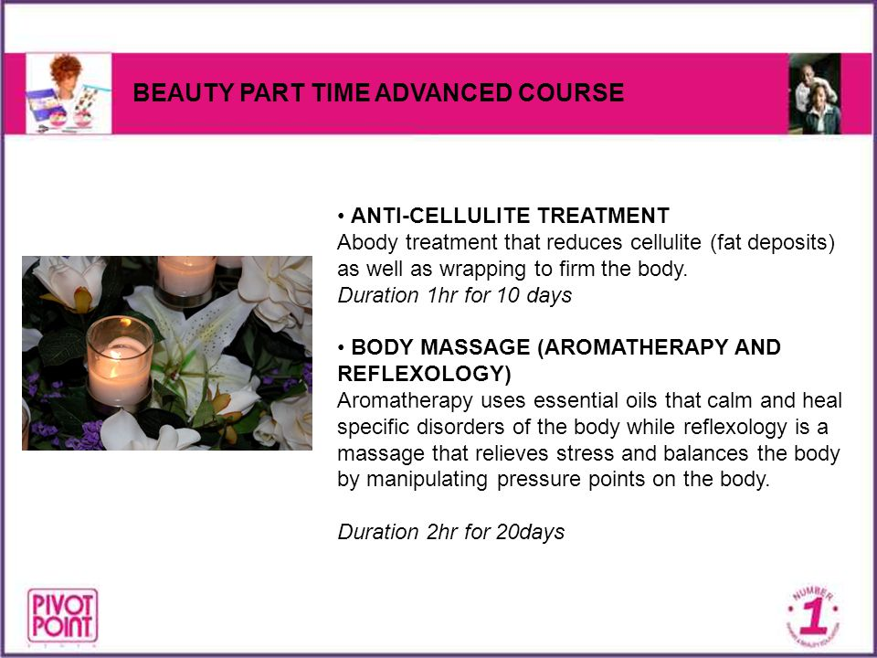 BEAUTY PART TIME ADVANCED COURSE