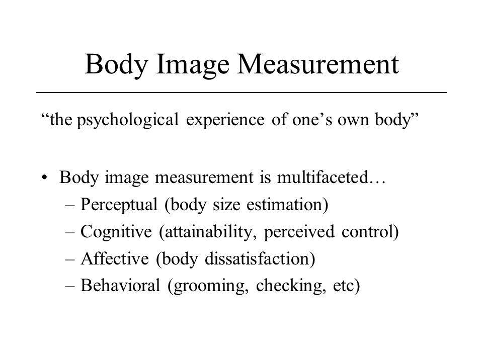 Body Image Measurement
