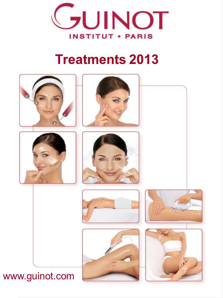 Treatments 2013 Kezelések 2011 www.guinot.com
