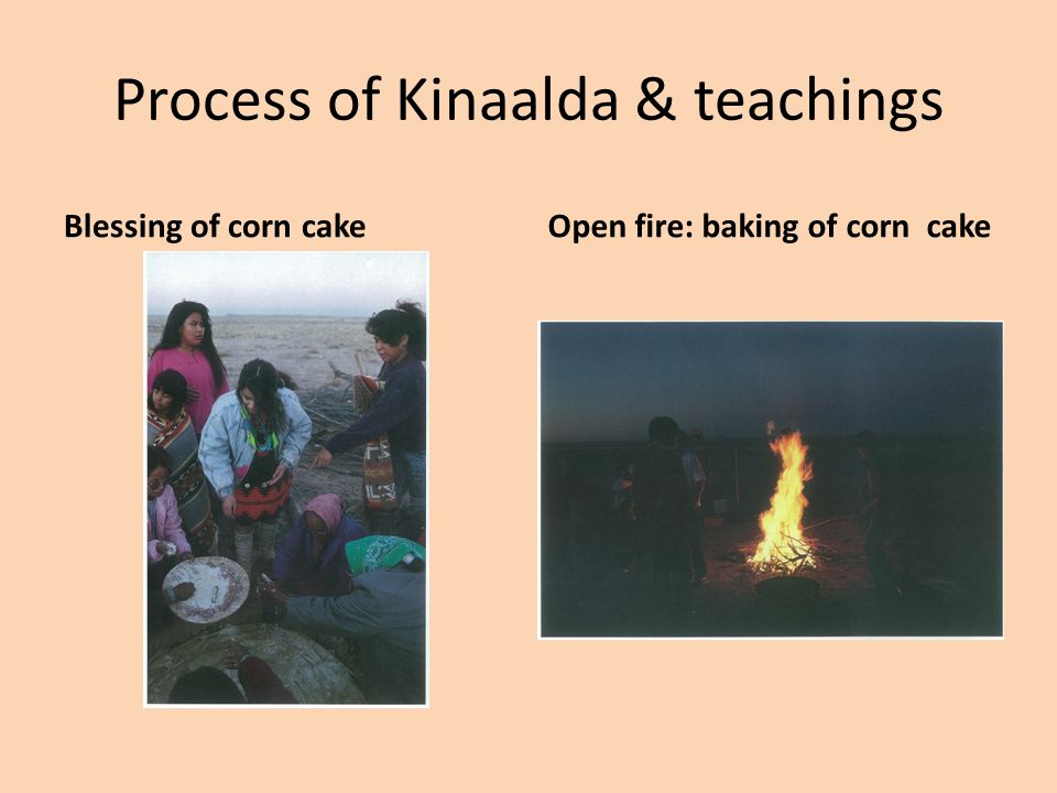 Process of Kinaalda & teachings