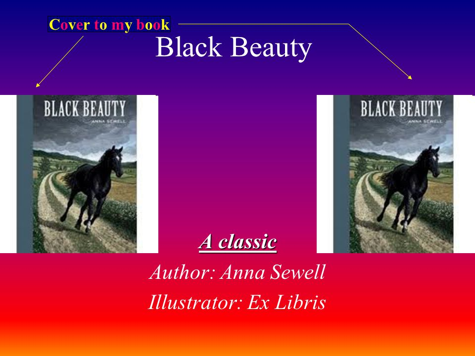Classic Book Cover Download ~ A classic author anna sewell illustrator ex libris ppt