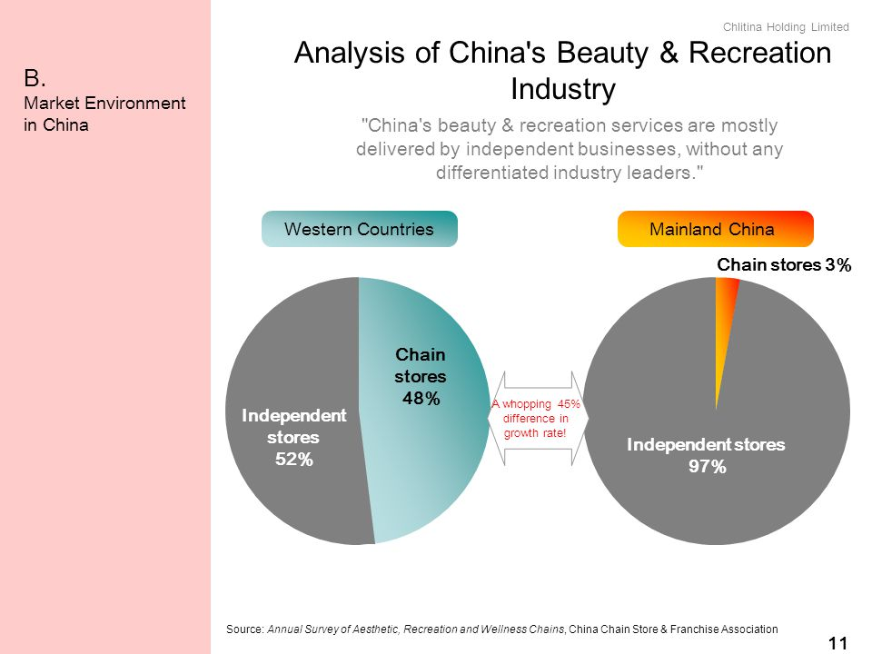 Analysis of China s Beauty & Recreation Industry