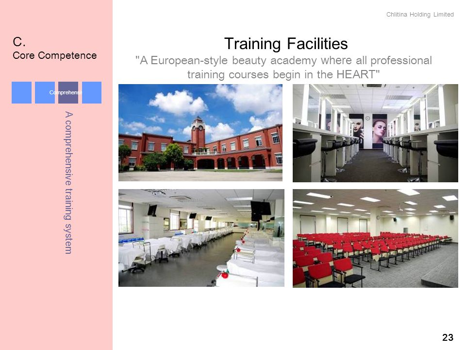 Training Facilities C. Core Competence