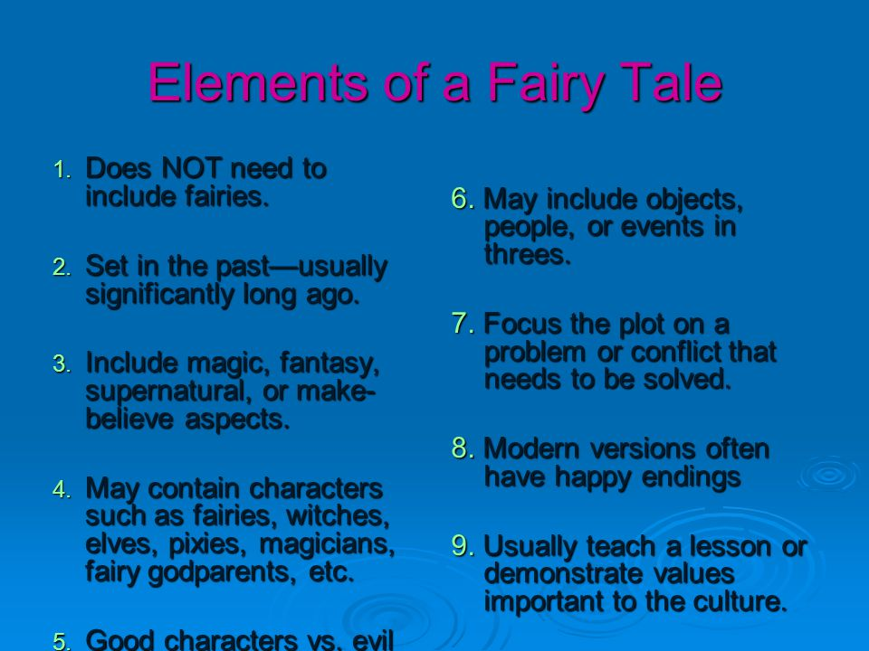 not all fairytales have a happy A fairy tale is a story about magic and legendary deeds check out these  now  you have seen lots of examples of stories considered fairy tales yourdictionary.
