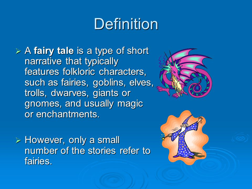Fairy tales and how to them fracture ppt video online for Tale definition