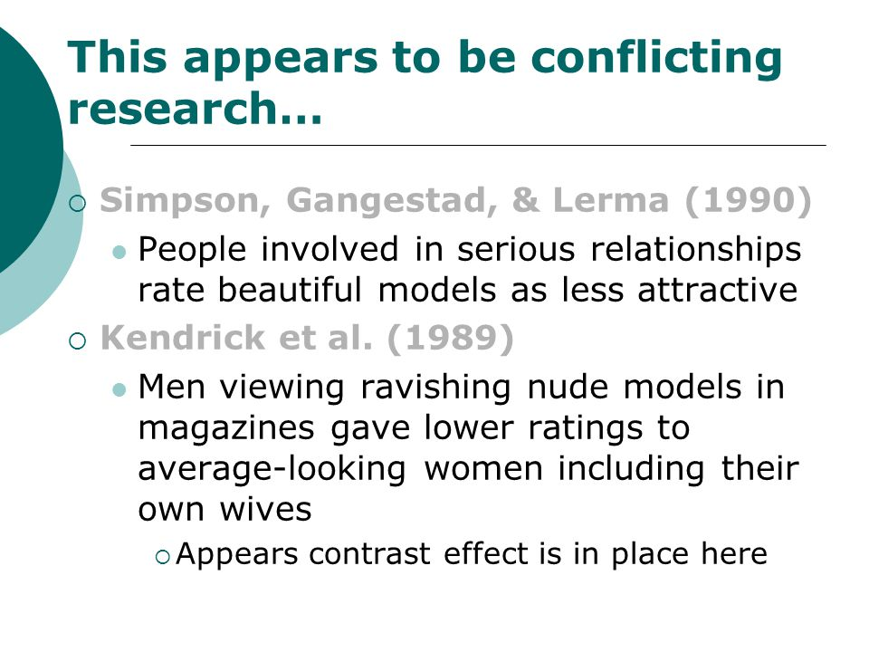 This appears to be conflicting research…