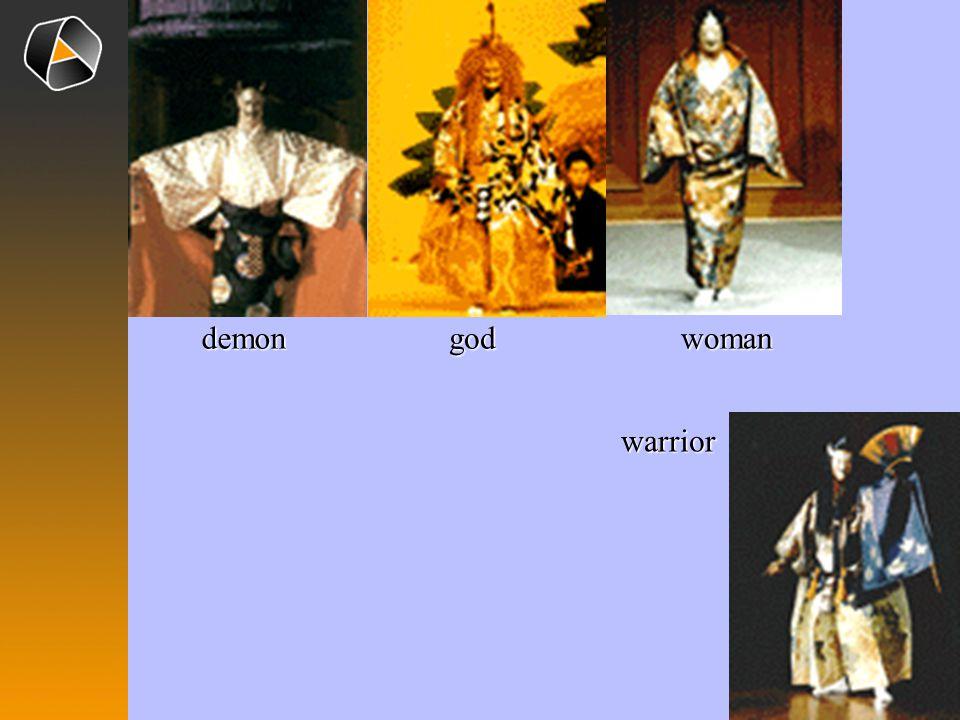 demon god woman warrior