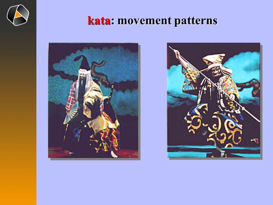 kata: movement patterns