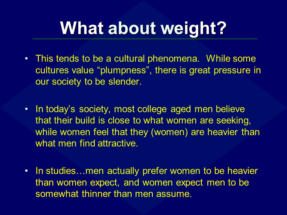 What about weight