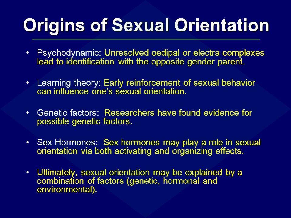 Origins of Sexual Orientation
