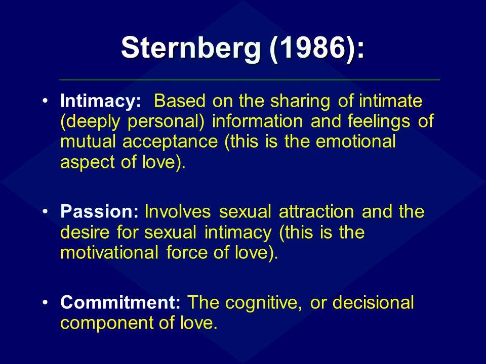 Sternberg (1986):
