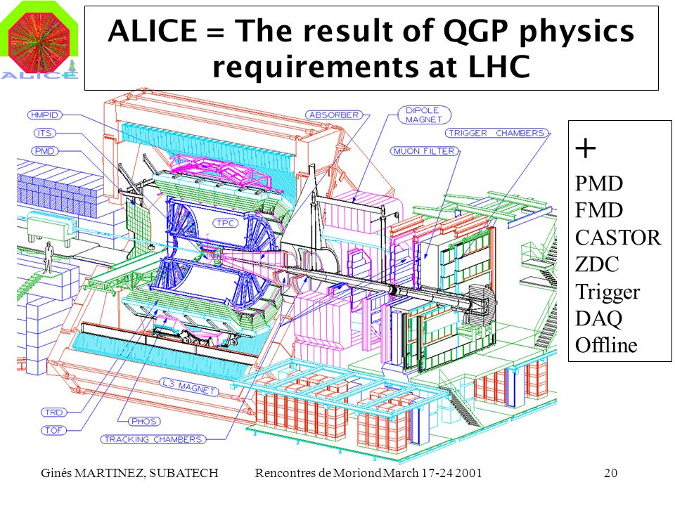 ALICE = The result of QGP physics requirements at LHC