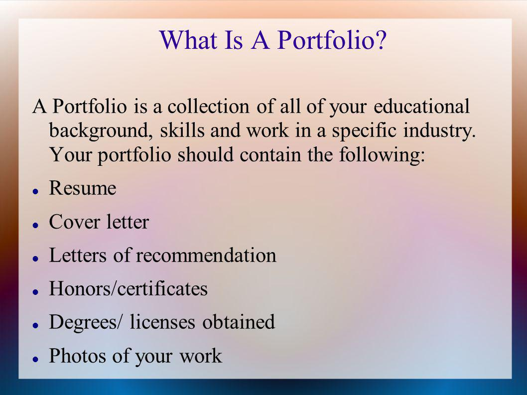 how to create your cosmetology portfolio
