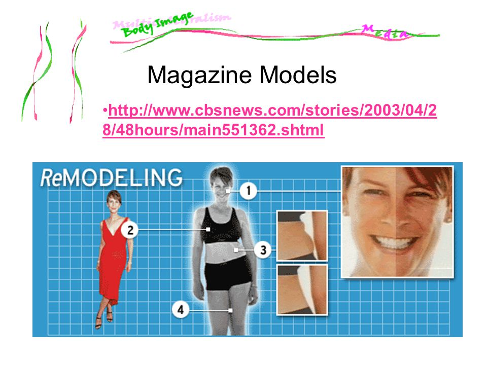 Magazine Models http://www.cbsnews.com/stories/2003/04/28/48hours/main551362.shtml.