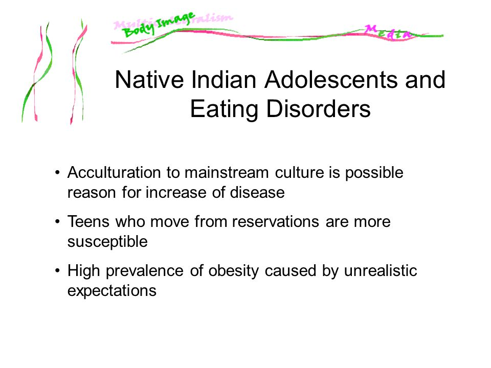 Native Indian Adolescents and Eating Disorders