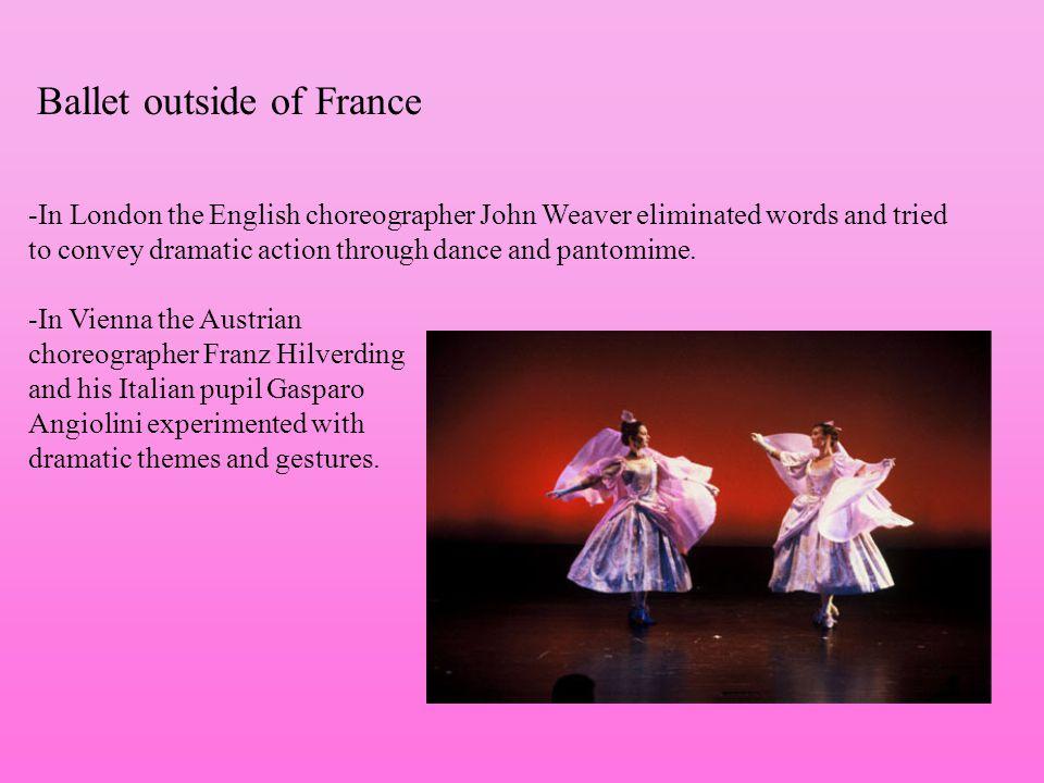Ballet outside of France