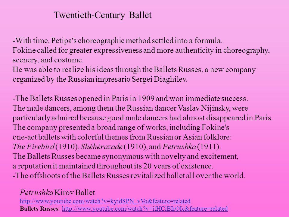 Twentieth-Century Ballet