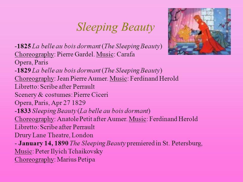 Sleeping Beauty -1825 La belle au bois dormant (The Sleeping Beauty)