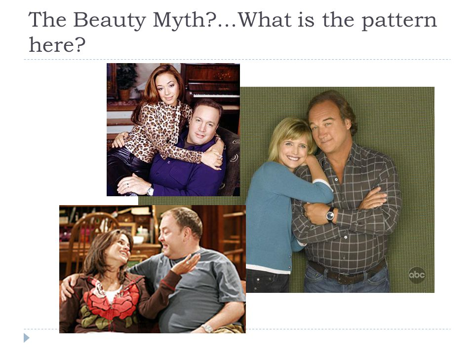 The Beauty Myth ...What is the pattern here