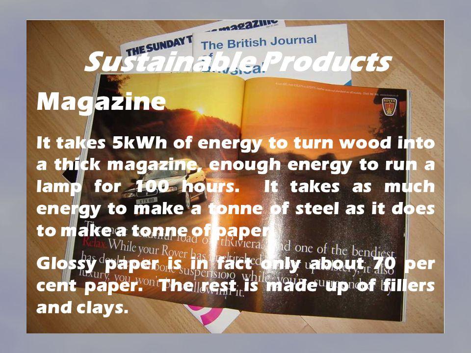 Sustainable Products Magazine