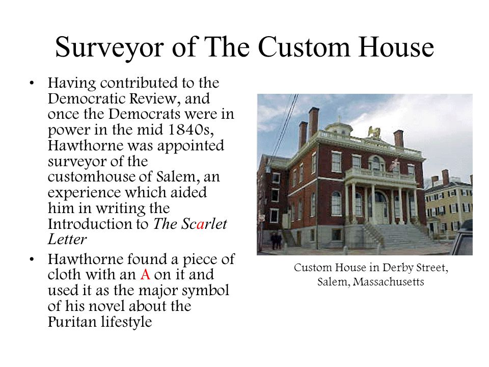 Surveyor of The Custom House