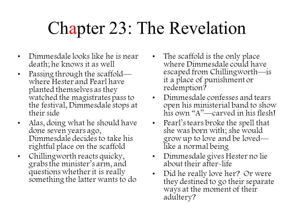 Chapter 23: The Revelation