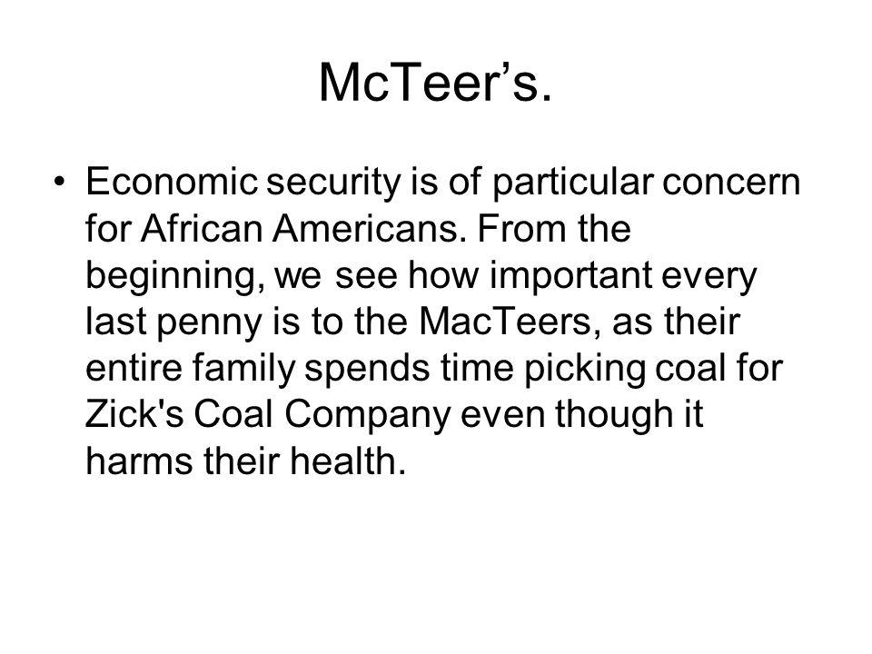 McTeer's.