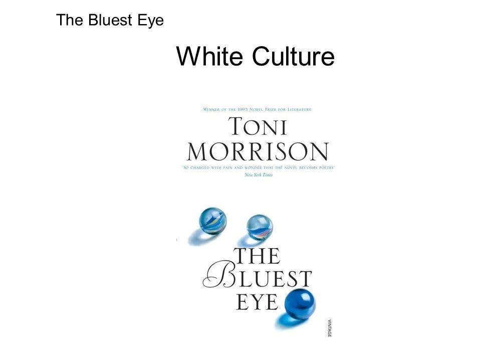 The Bluest Eye White Culture