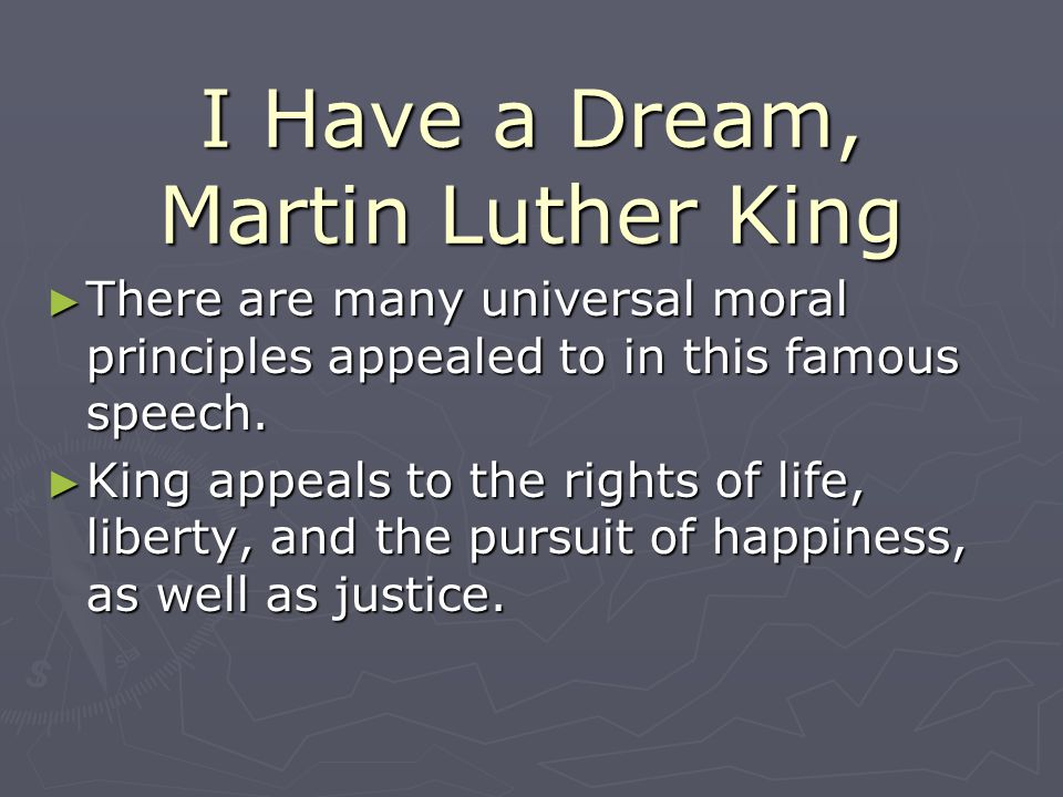 I Have a Dream, Martin Luther King