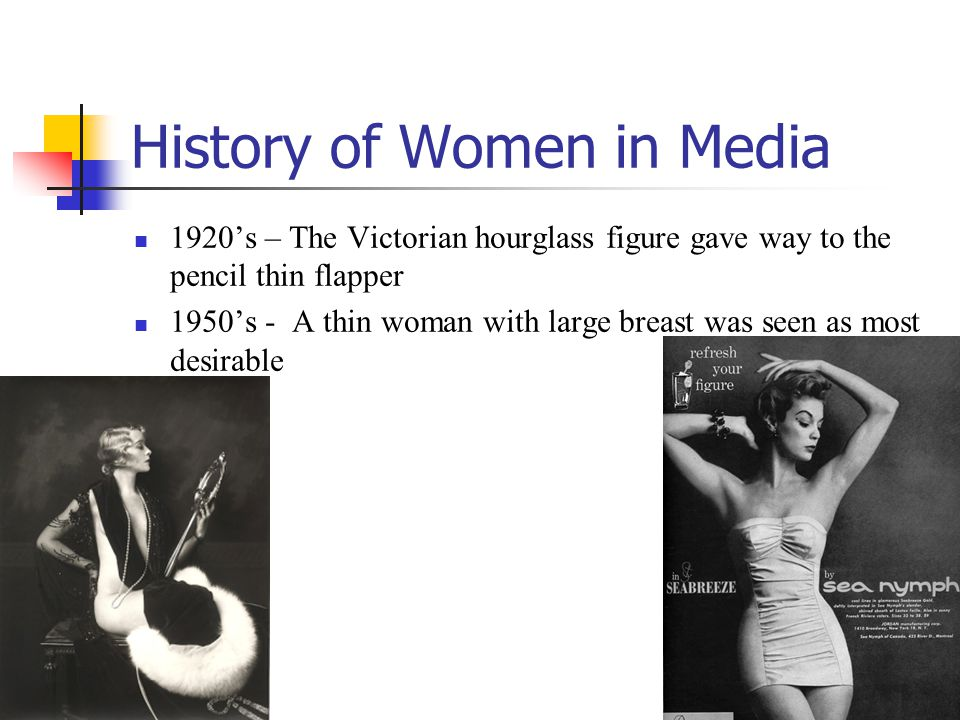 History of Women in Media