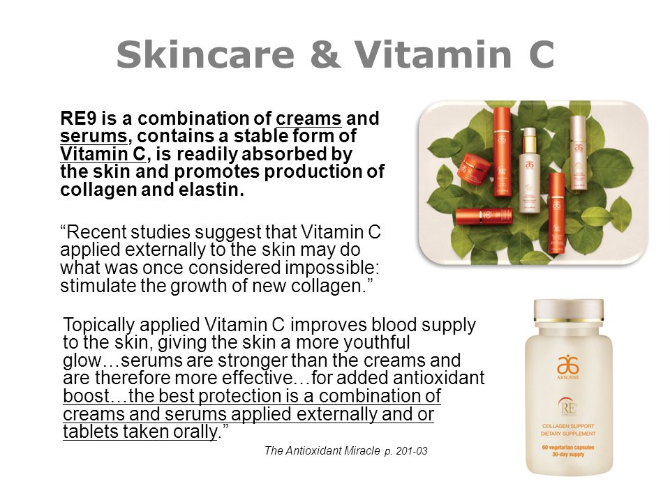 Skincare & Vitamin C