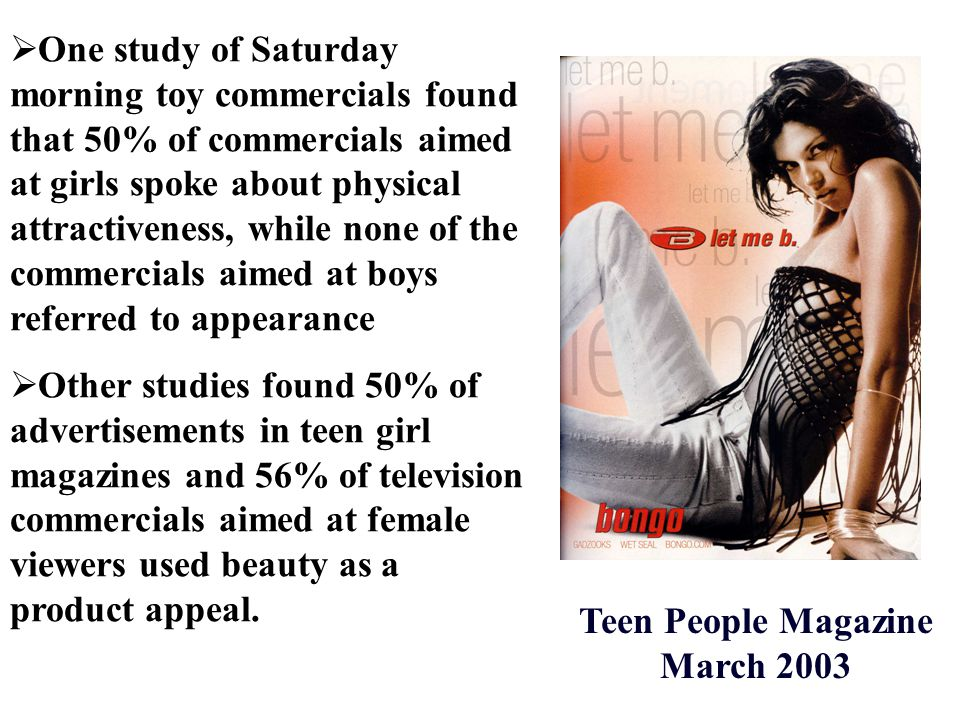 Teen People Magazine March 2003