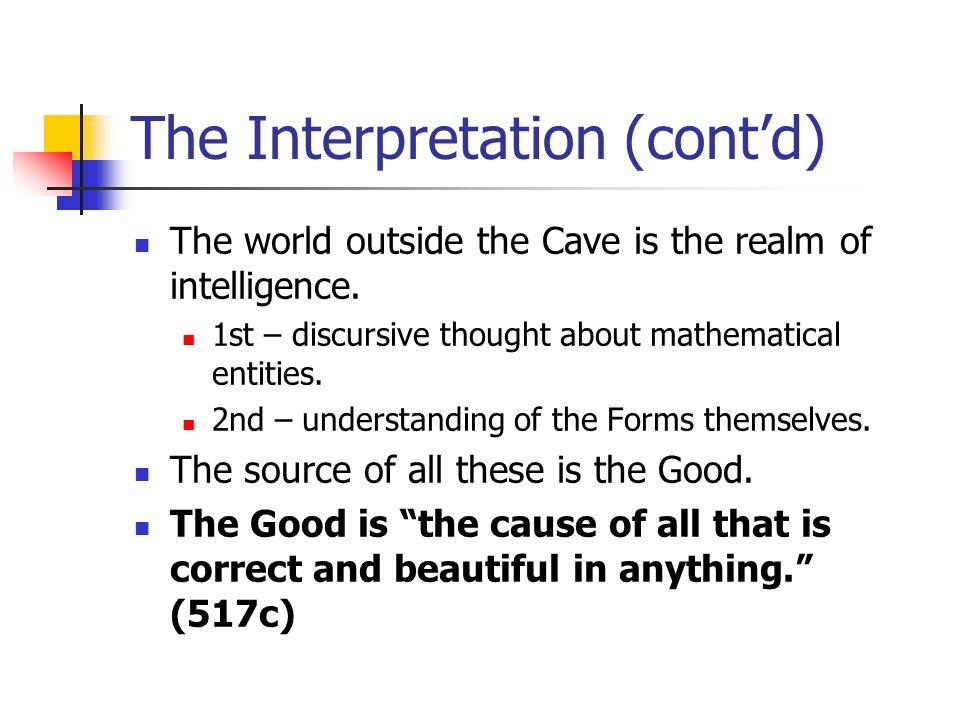The Interpretation (cont'd)