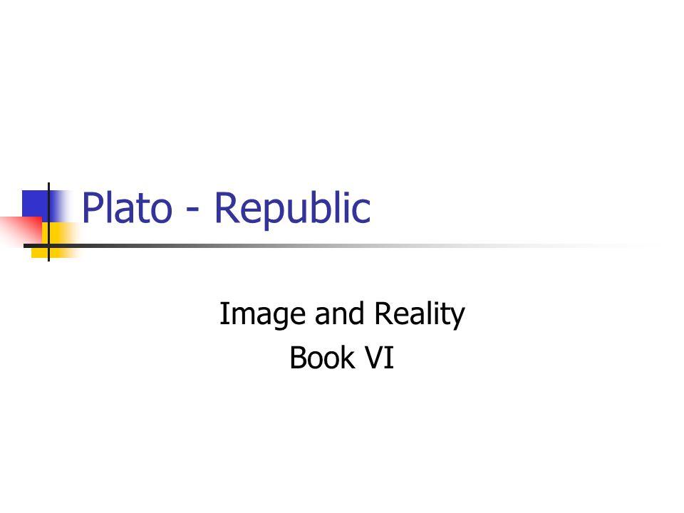 Image and Reality Book VI