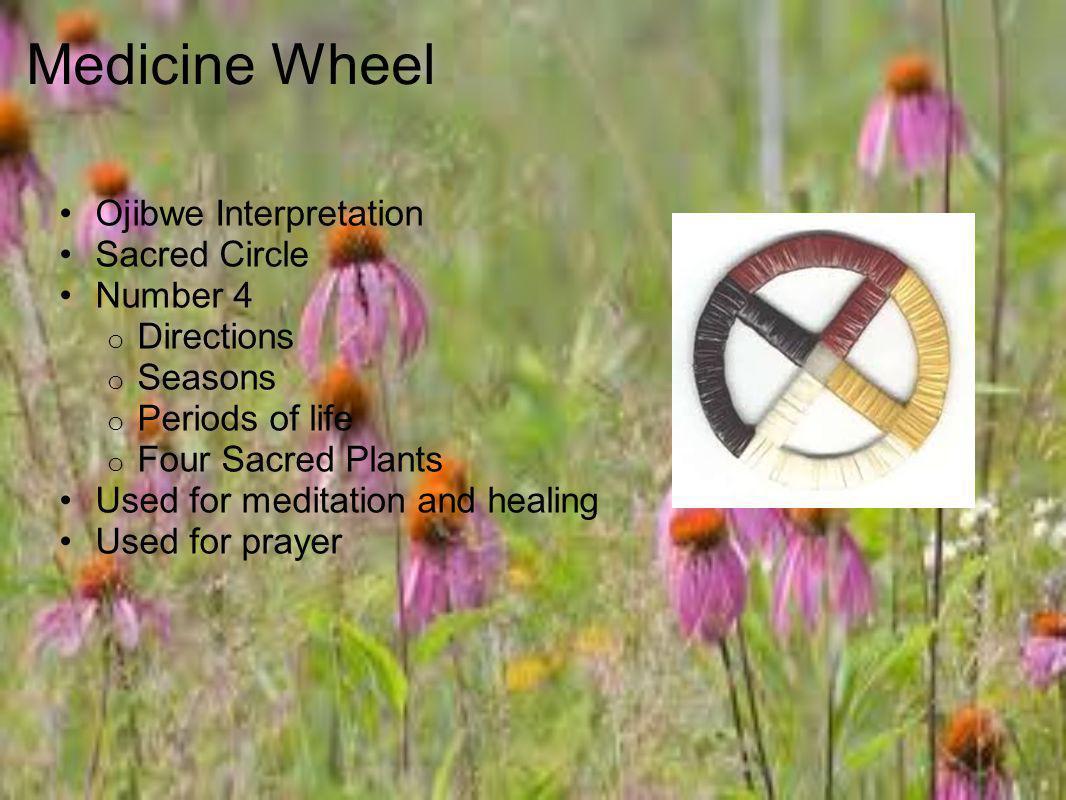 Medicine Wheel Ojibwe Interpretation Sacred Circle Number 4 Directions