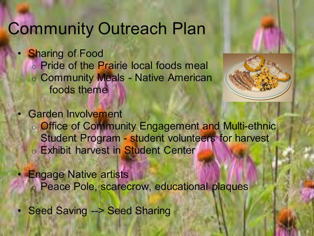 Community Outreach Plan