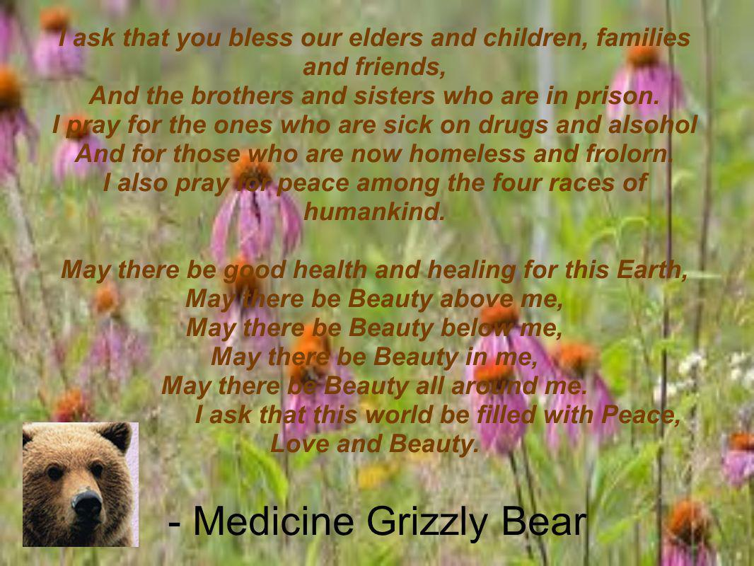 - Medicine Grizzly Bear