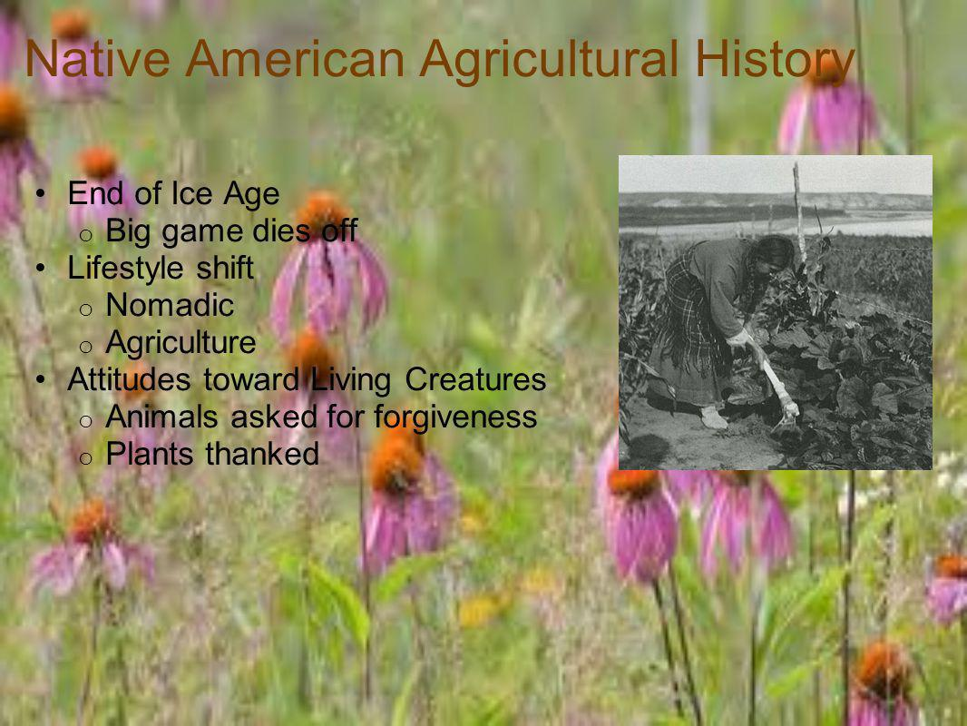 Native American Agricultural History