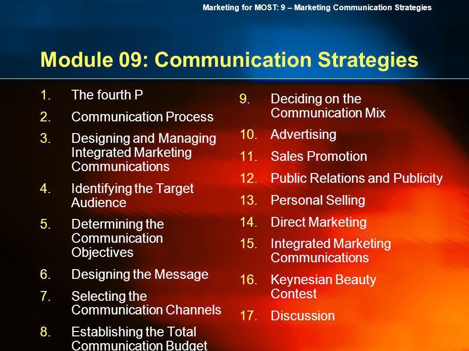 Module 09: Communication Strategies