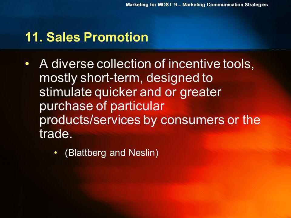 11. Sales Promotion