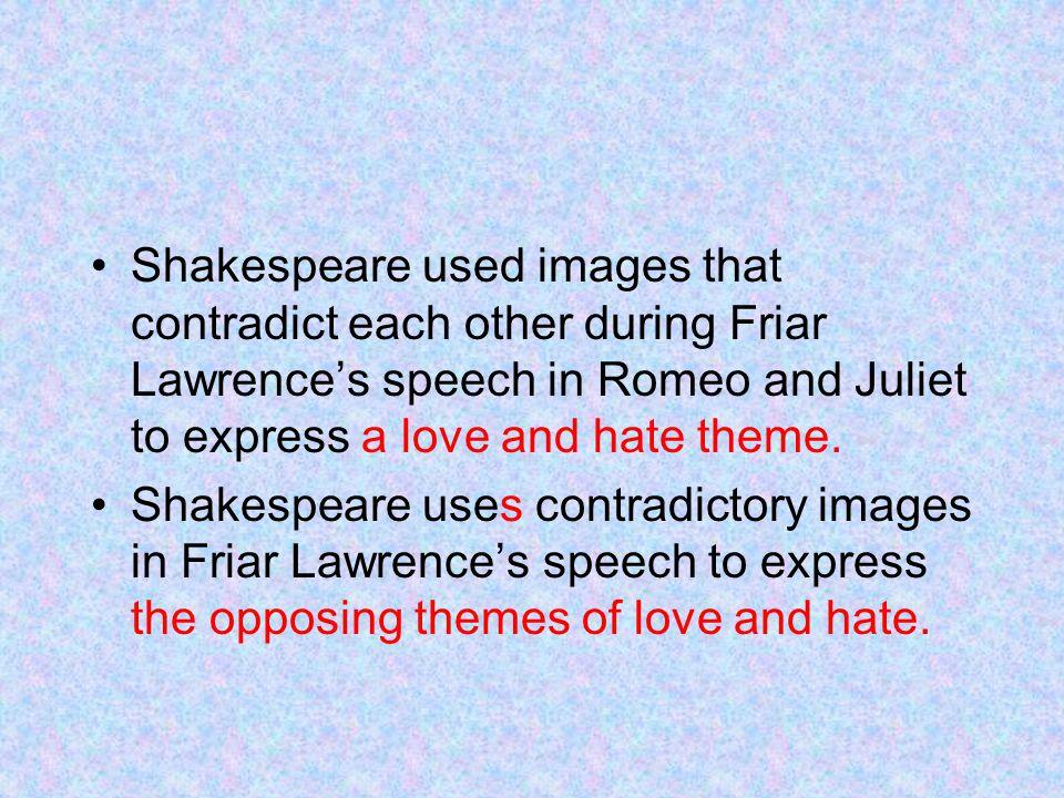 romeo and juliet speech