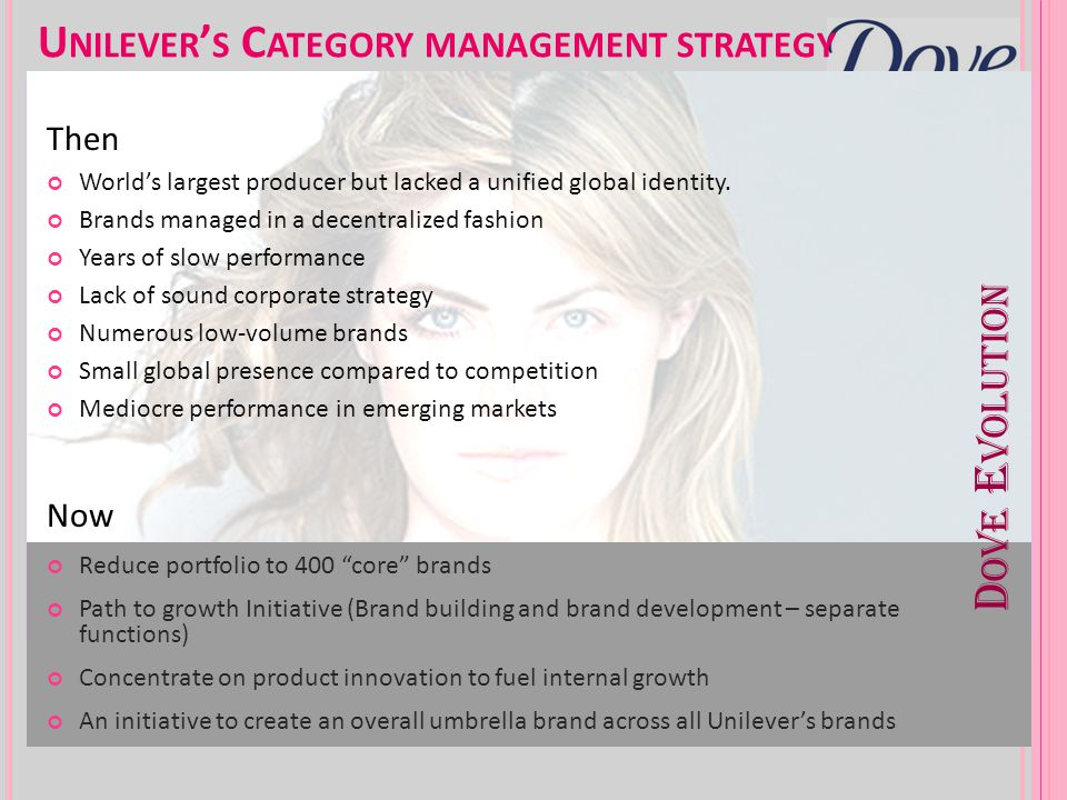 Unilever's Category management strategy