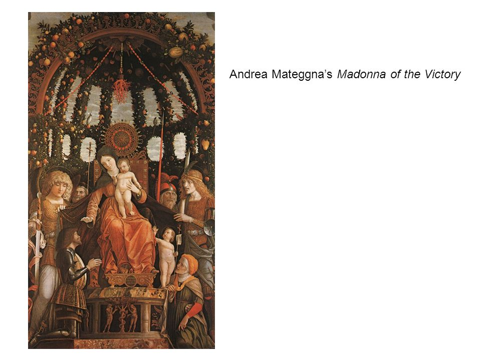 Andrea Mateggna's Madonna of the Victory